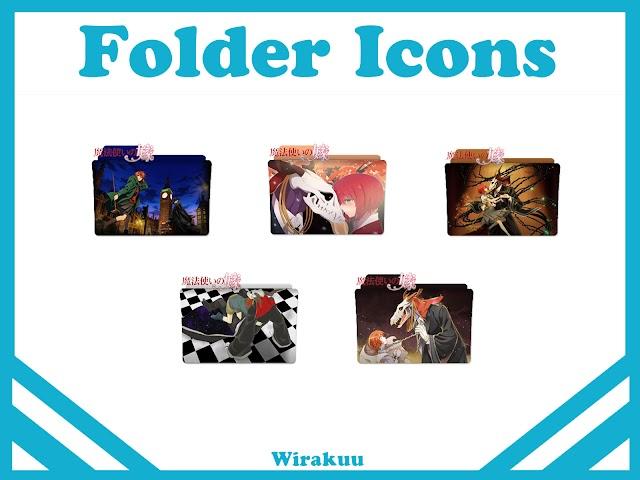 Free Download Folder Icons Anime Mahoutsukai no Yome (Fall 2017)
