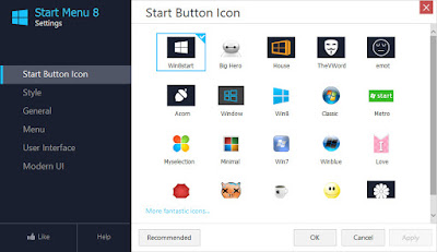 IObit Start Menu 8 v3.0.0.1 Terbaru