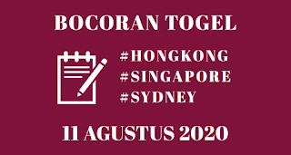Bocoran Togel Sydney 11 Agustus 2020