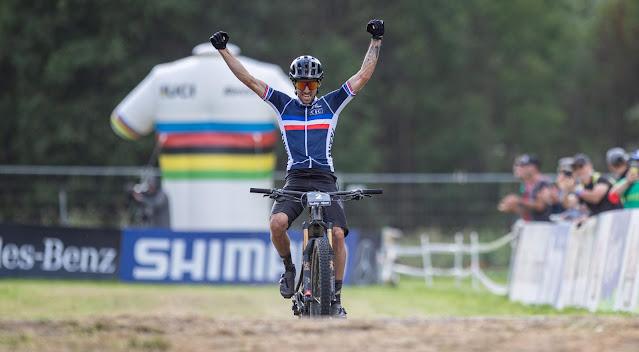 Jerome Gilloux é campeão mundial de e-MTB - Foto: Val di Sole Bike Land