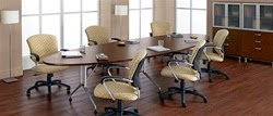 Global Alba Laminate Conference Table