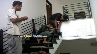 Pemasangan Railing Balkon Minimalis