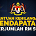 Cara Mohon Bantuan Kehilangan Pendapatan RM 500