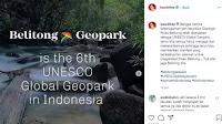 Ahok Bangga Geopark Belitung Diakui UNESCO, Sampai Posting Foto di Instagram