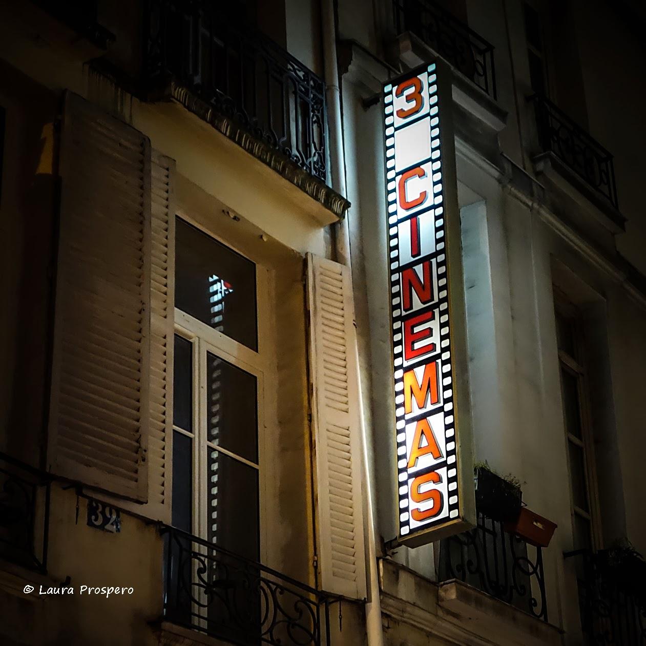 3 cinémas, Paris © Laura Prospero