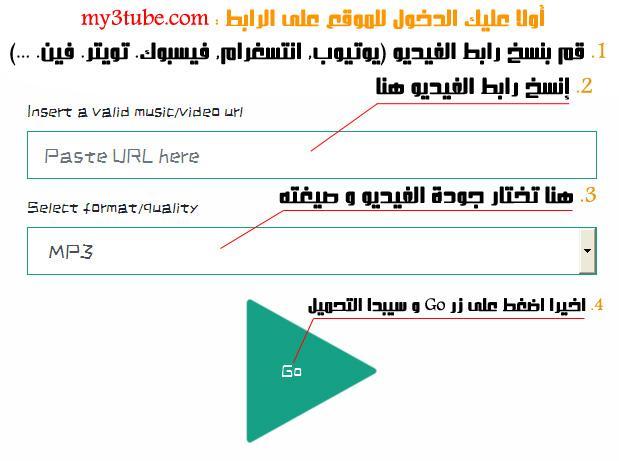 طريقة تحميل الفيديوهات من على الإنترنت