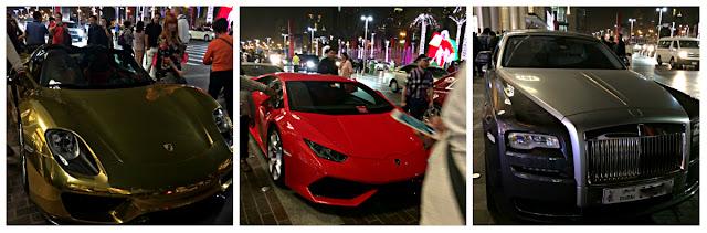 Dubai, gezisi,Dubai Mall, Lüks Arabalar, Yiyecek, Tur, yurt dışı, Mall, Wafi Mall