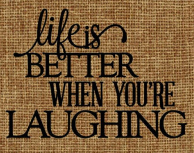 Laughing is Happiness