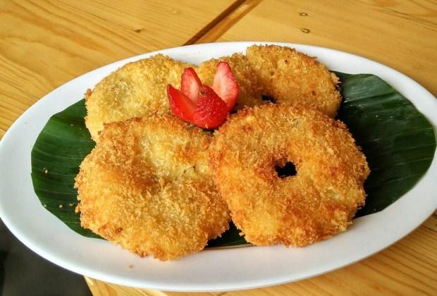 resep nanas goreng tepung, cara membuat nanas goreng tepung