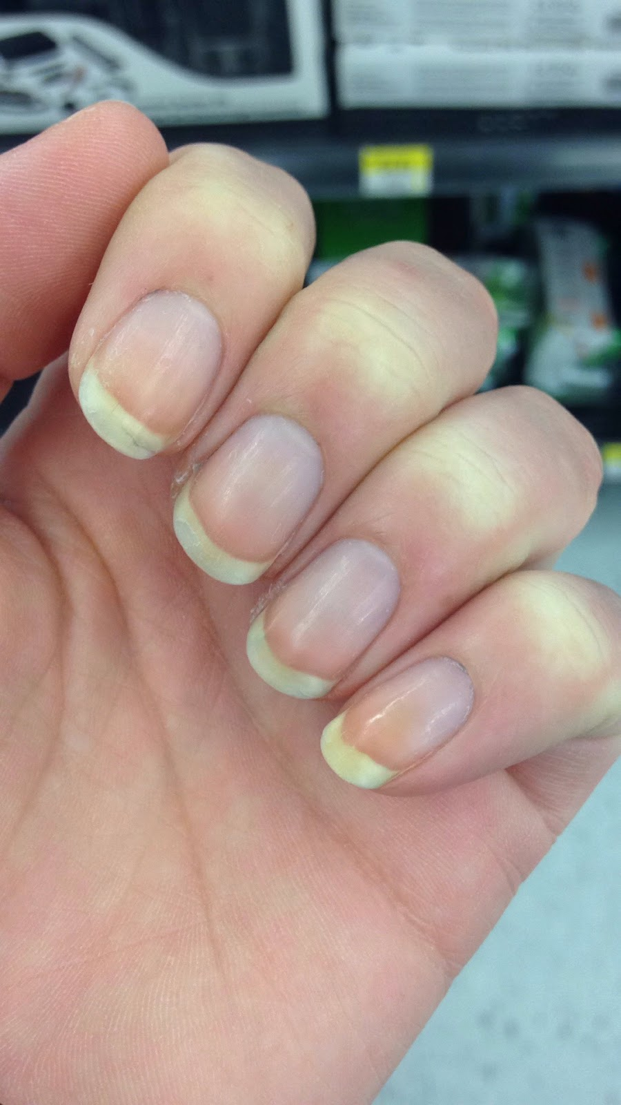 My Nail Polish Obsession My Birthday Nails: Blondie's Nails: Cuticle Oil & Nail Growth