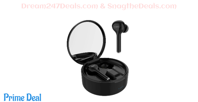 75%OFF COWIN KY03 True Wireless Earbuds Bluetooth Wireless Ear Buds TWS Headphones in-Ear Earphones Truly Wireless Earbuds with Microphone Charging Case HiFi Stereo Sound 30H Playtime Earbuds for Sport
