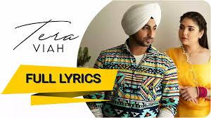 Tera Viah Lyrics By Minda
