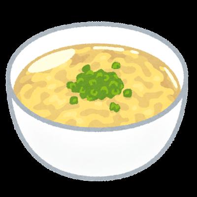 卵スープのイラスト