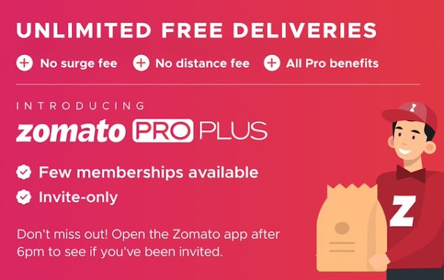 Zomato Pro Plus Membership – How To Get FREE | Unlimited FREE Deliveries
