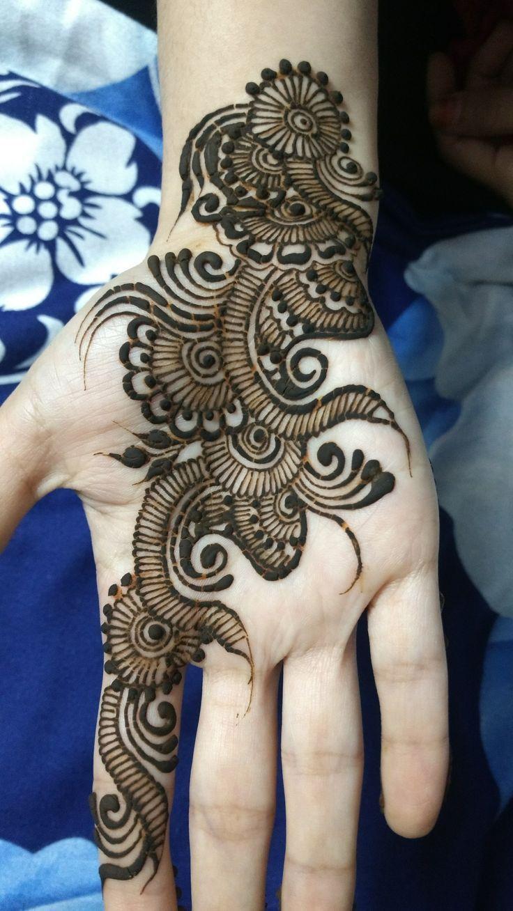 back hand mehndi design bel easy and beautiful