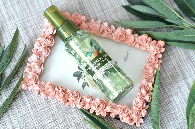 Yves Rocher Perfumed body mists Les Plaisirs Nature  Парфюмированный Спрей для Тела и Волос Миндаль - Флердоранж