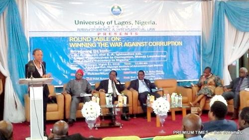 Falana, Sagay, Oby Ezekwesili & Aribisala Clash at Roundtable on Corruption War in Lagos
