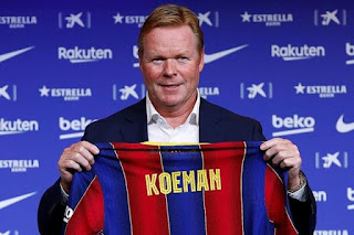 Barcelona new manager Koeman admits to squad clearout planned