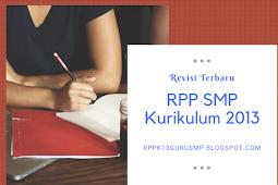 Rpp Smp K13 Revisi Terbaru Lengkap