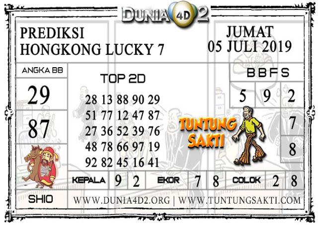 "Prediksi Togel ""HONGKONG LUCKY 7"" DUNIA4D2 05 JULI 2019"