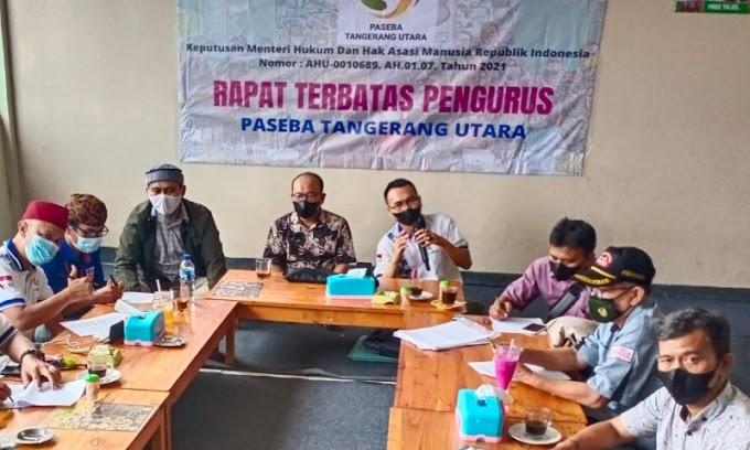 Paseba Tangerang Utara Lantik 10 Ketua Departemen