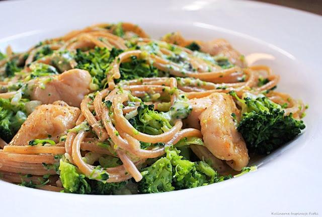 Makaron w sosie gorgonzola