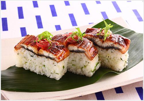うなぎの薬味寿司