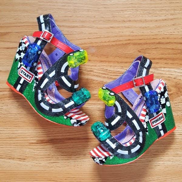 Irregular Choice Spaghetti Junction shoes