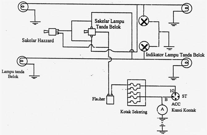 Wiring Diagram Lampu Senja