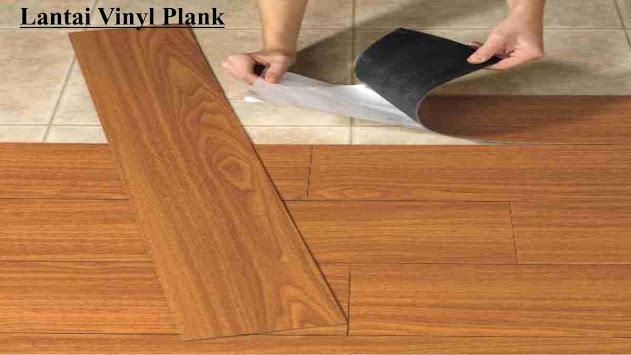 produk lantai vinyl plank