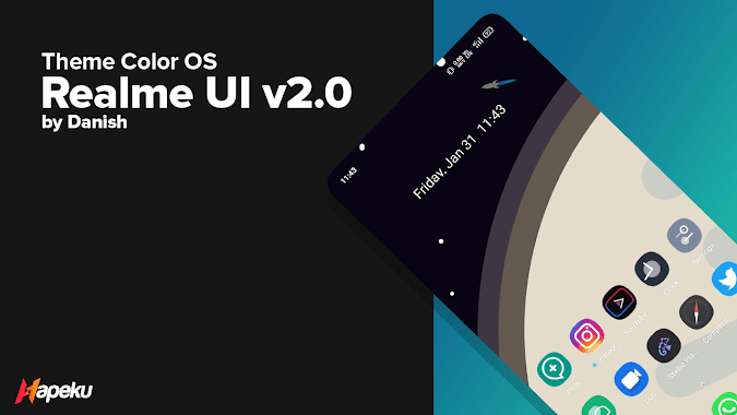 Theme Realme UI 2.0 for Color OS 6 ( OPPO & REALME )