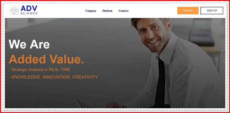 [Мошеннический сайт] advaliance.com – Отзывы, развод? Компания ADVAliance мошенники!