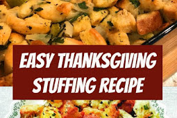 Easy Thanksgiving Stuffing Recipe #stuffingrecipe #thanksgiving #thanksgivingrecipes #easyrecipe