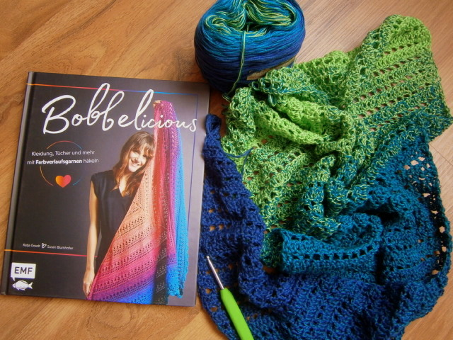 ULRIKES SMAATING: Bobbelicious - Mit Farbverlaufsbobbeln häkeln...