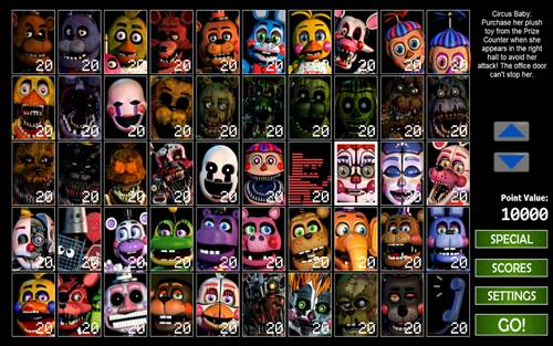 Ultimate Custom Night V1.0.1 FULL APK – TAM SÜRÜM