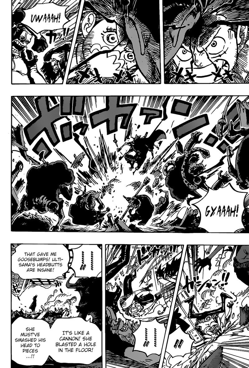 One Piece Manga Chapter 983 - Image 010