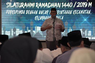 Bupati Bersilaturahmi dan Buka Bersama Dengan Unsur Pemerintahan Kecamatan, Kelurahan dan Desa