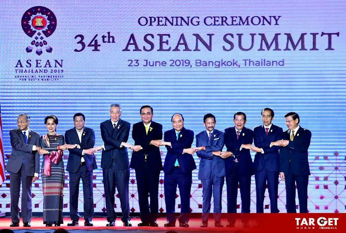 Presiden Joko Widodo Hadiri Pembukaan KTT ke 34 ASEAN di Bangkok