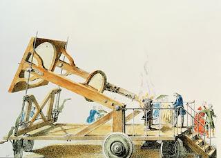 Lavoisier's Solar Furnace