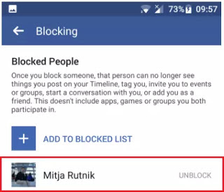 How to Unblock Someone On Facebook Guide