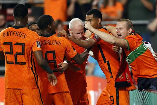 ملخص واهداف مباراة هولندا والجبل الاسود (4-0) تصفيات كاس العالم
