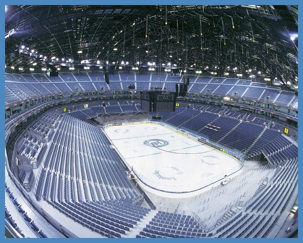 LANXESS arena Köln Locations from Lanxess arena innen,
