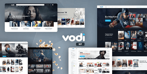 Vodi 1.1.10 – Video WordPress Theme for Movies & TV Shows