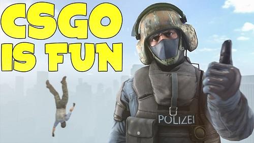 Counter Strike có xuất phát điểm từ nguồn cảm xúc của một đội nhóm Fan Hâm mộ giàu tâm huyết sau lúc thi đấu loạt game Half Life