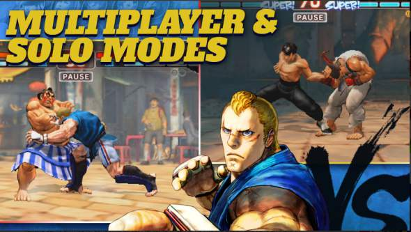 Game Pertarungan Offline Android: Street Fighter IV APK
