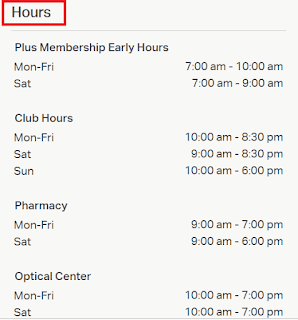 Sams Club Hours Near Me