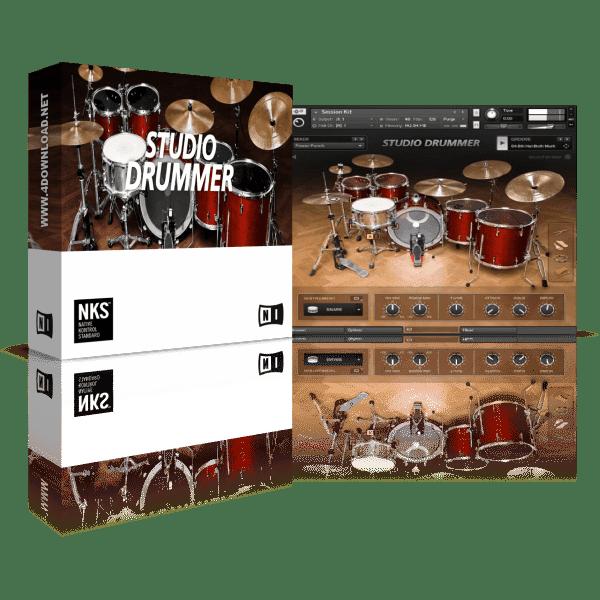 Native Instruments Studio Drummer KONTAKT Library