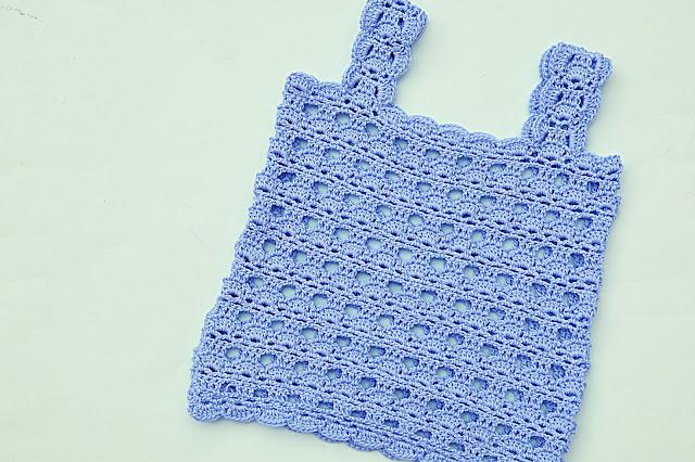 2 - Crochet Imagen Camisa a tirantes a crochet y ganchillo por Majovel Crochet