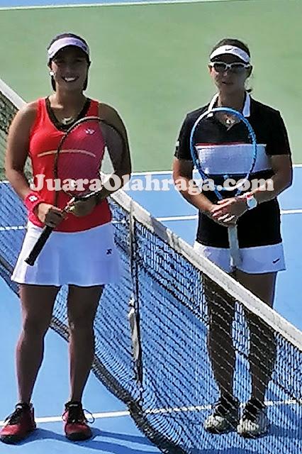 Aldila Sutjiadi vs Beatrice Gumulya - Simulasi Kompetisi Internal Antar Pemain Pelatnas Tenis Indonesia