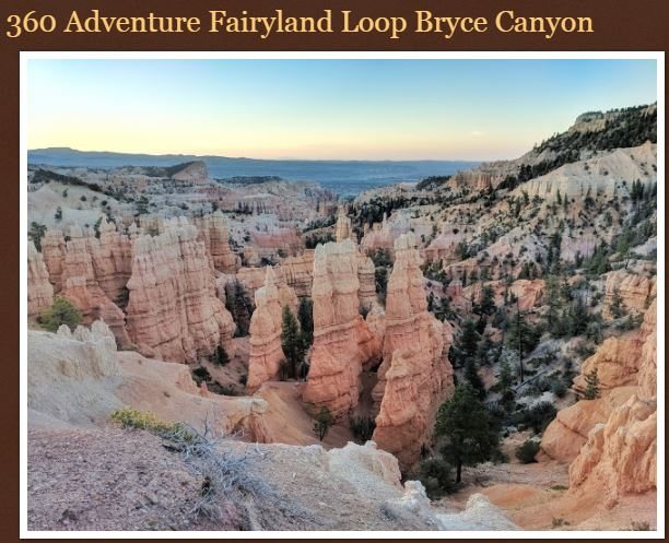 Fairyland Loop Trail Bryce Canyon